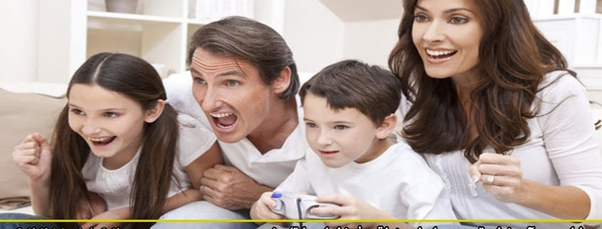رابطه منطقی فرزندان با تلویزیون